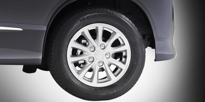 New Alloy Wheel Design