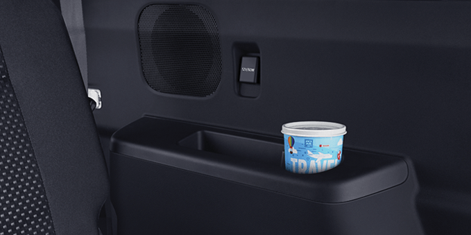 Back Seat Cup Holder